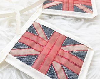 BANNER great britian bunting BRITISH flag