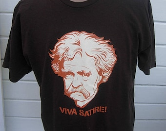 Size XL (47) ** Mark Twain Shirt (Single Sided)