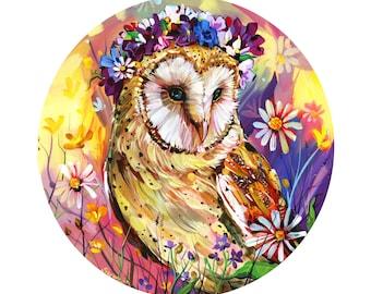 Barn Owl print by Shaunna Peterson