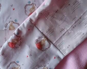 Peter Rabbit Girls Blanket Gift Set