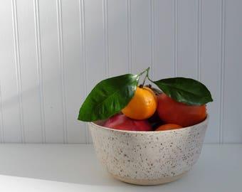 Light Speckled Bowl