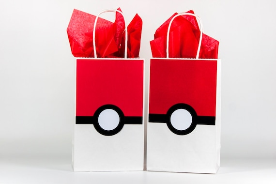 Pokemon party bags pokemon pokeball party bags pokemon pokemon party bags pokemon pokeball party bags pokemon birthday pokemon party decoration pokemon gift bags pokemon bags set of 12 from negle Image collections