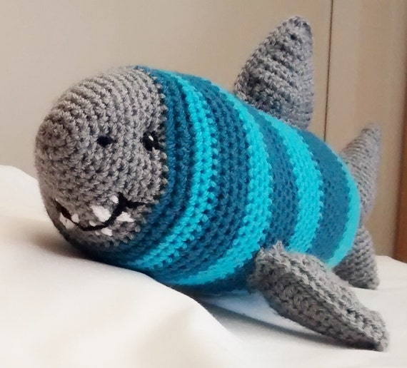 Crochet Shark Pattern Pdf Instant Download From Stringtheoryc On