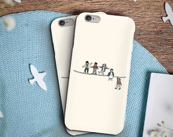 The Acrobats and the Fleas Phone Case, iPhone 5S Case, iPhone 6S Plus, iPhone 7 Case, iPhone 8 Plus Case, Samsung Galaxy S8 Case, Galaxy S7