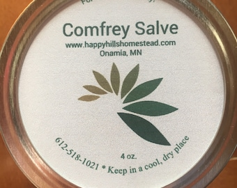 Comfrey Salve (variety of scents)