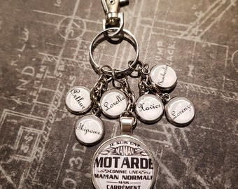 Keychain personalized mother's day