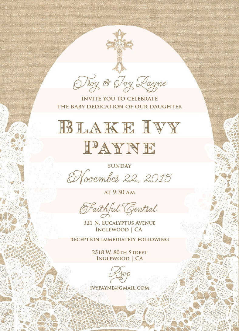 Baptism invitations baptism invitation christening Invitation