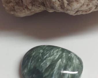 Natural Seraphinite Designer Cabochon, Ring Size Cabochons