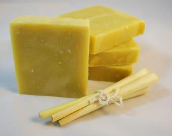 Lemongrass Natural Soap - 100% Vegan