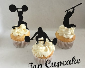 Crossfit Cupcake Toppers -12