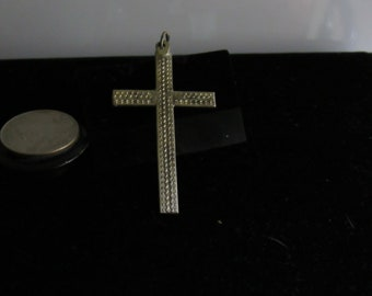 Discover Silver with this silver cross