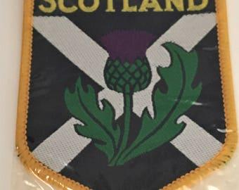 Souvenir of Scotland Woven Patch