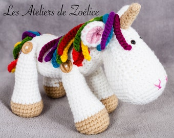 Rainbow Unicorn coquette