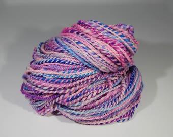 Handspun, Hand Dyed 100% Merino Wool
