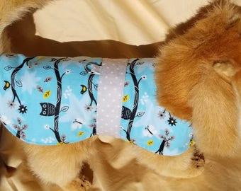 Owl Print Dog Coat