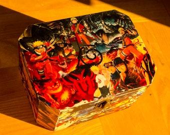 Naruto Wooden Box
