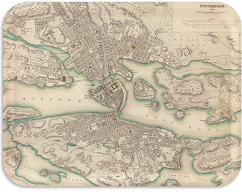 "Stockholm  1838 17""x13"" Tray"