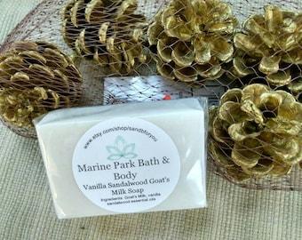 Vanilla Sandalwood Goat's Milk Soap
