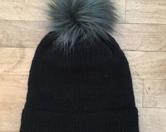 Merino Wool Double Brim Slouch Hat- Customize!