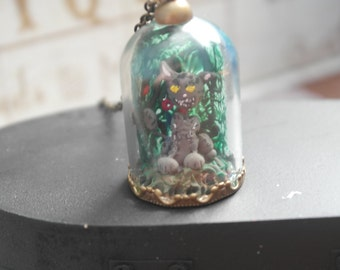 American McGee's Alice Madness Returns Cheshire Cat Pendant