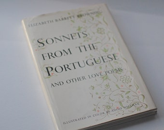 Sonnets from the Portuguese Vintage Book Love Poems Poetry Elizabeth Barrett Browning
