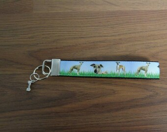 Dog Keychain for the home or cottage wrist father's day gift