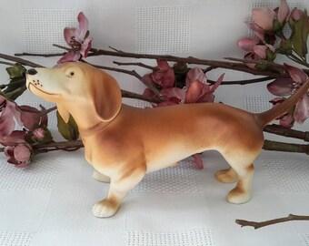 Royal Dux Czech Dachshund Dog Figurine