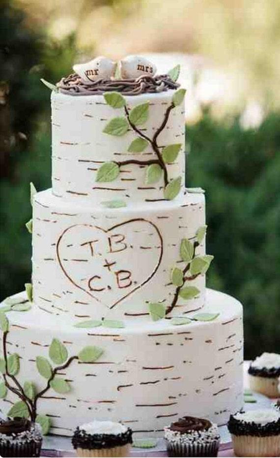 Wedding cake topper birds bird cake topper love birds wedding