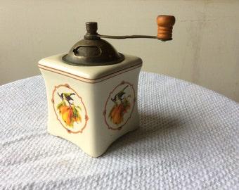Vintage pepper grinder.