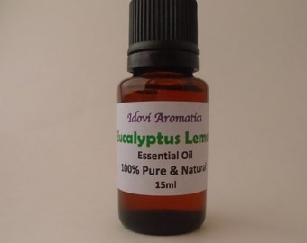 Eucalyptus Lemon Essential Oil 100% Pure Therapeutic Grade Essential Oil