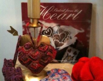 Knit Heart sachet