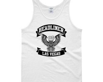 M.C. Inspired EDC Las Vegas White Tank top!