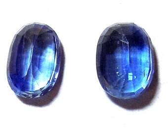 40% Sale -- Kyanite, Cut Stone, Oval Shape, 1 pc, 8 x 11 mm Size.