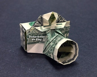 CAMERA Money Origami Art Dollar Bill Cash Photographer Sculptors Bank Note Dinero