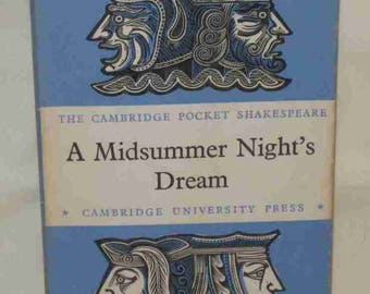 Cambridge Pocket Shakespeare A Midsummer Night's Dream Book 1958