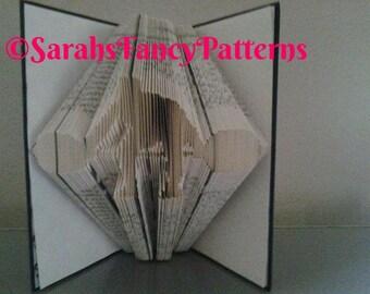 Half Price Sale - Weightlifter - Book Folding Pattern