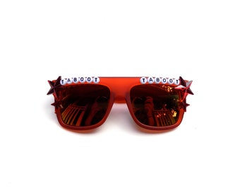 """Phish Llama """"Taboot Taboot"""" decorated sunglasses by Baba Cool 
