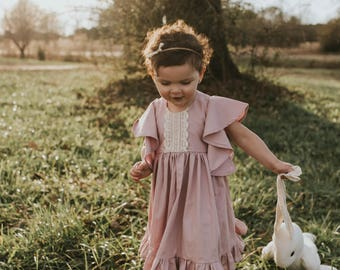Girls Easter outfit - toddler girls Easter outfit - girls Easter dress - girls clothes for Easter - toddler Easter dress - dress for Easter