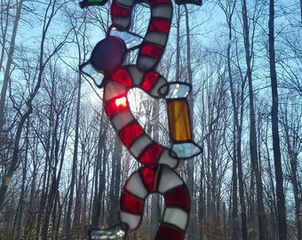 Stained Glass Candy Canes and Christmas Candies!