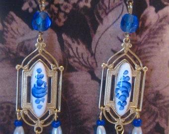Edwardian Inspired Earrings