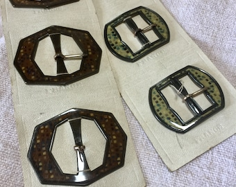 1920's French Antique Buckle
