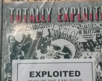 Exploited Best Of Exploited Rare Misspress with The bruisers on one of the records