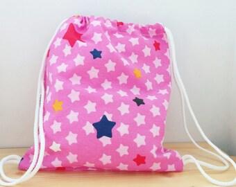 Stars backpack,Baby backpack,children backpack, kids backpack,children bag, baby bag, kawaii bag, school bag,lunch bag,clothes baby bag