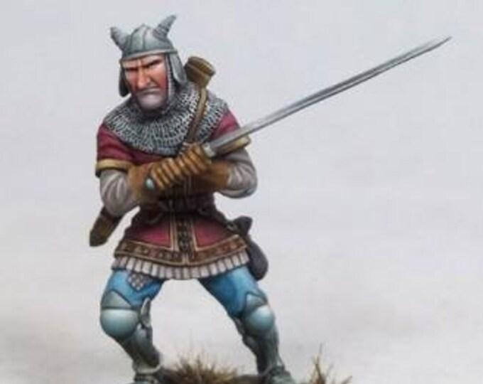 DiTerlizzi Masterworks: Harvey Masher, Human Warrior - 4602 - Dark Sword Miniatures