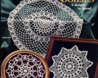 Elegant Doilies Crochet book Crochet doily Pdf file