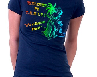 T.A.H.I.T.I It's A Magical Place Tshirt, Tahiti Tshirt, Agents, Shield, Geek Gift, Geek Tshirt, Retro Tshirt, Gifts for Him, Gifts For Her