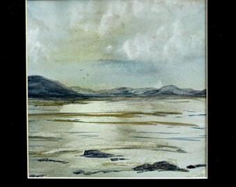 Banks and Braes - Scottish Highlands - Original Watercolour Painting - Scotland