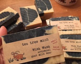 Tea Tree Mint Goat Milk Soap