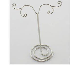 Display for earrings in silver - 12cm