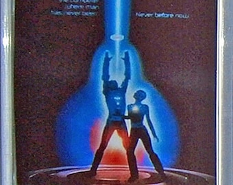 TRON Jeff Bridges Bruce Boxleitner Cindy Morgan movie poster Fridge Magnet & Keyrings Version 1 - New
